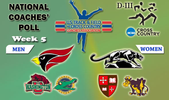 D-III National Cross Country Coaches' Poll: Week 5