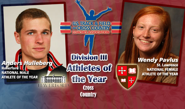 NCAA Champs Hulleberg, Pavlus Earn National Athlete of the Year Titles