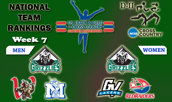 D-II National Cross Country Rankings: Week 7, November 3