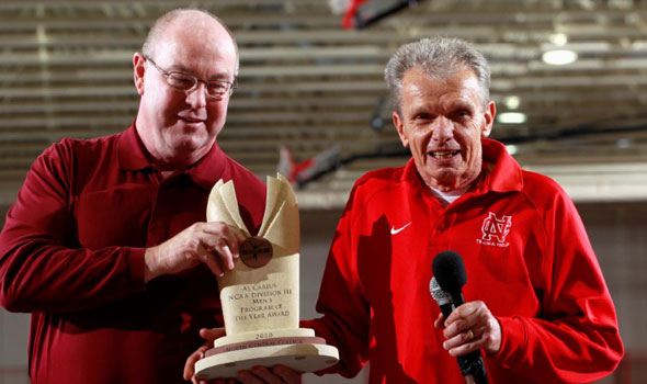 North Central Presented With USTFCCCA Program of the Year Award