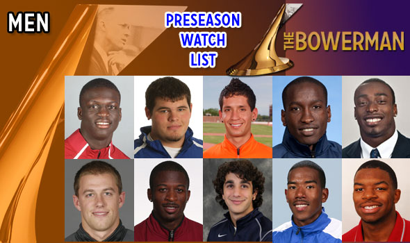 Preseason Watch List Announced for The Bowerman 2011 Men's Award