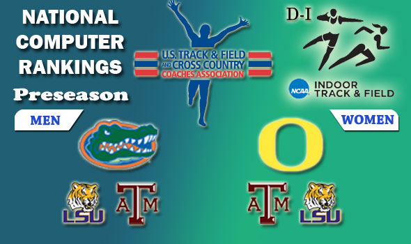 Defending Champs Florida Men, Oregon Women Open Indoor Season as Number One