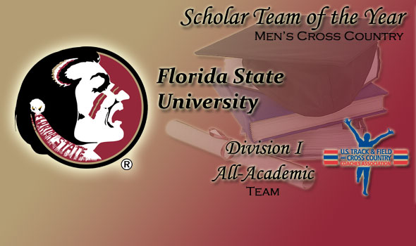 Florida State Tapped as Cross Country Men's Scholar Team of the Year in Division I