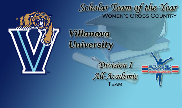 Two-Time Consecutive National Champ Villanova Again Named Scholar Team of the Year