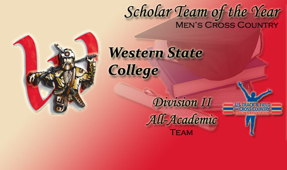 Western State Wins Honor as Division II Men's Scholar Team of the Year
