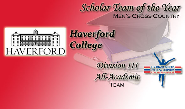 D-III Men's Scholar Team of the Year Honor Goes to National Champ Haverford