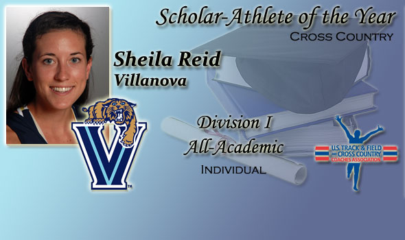 Villanova's Sheila Reid Adds D-I Scholar Athlete of the Year to 2010 Cross Country Scrapbook