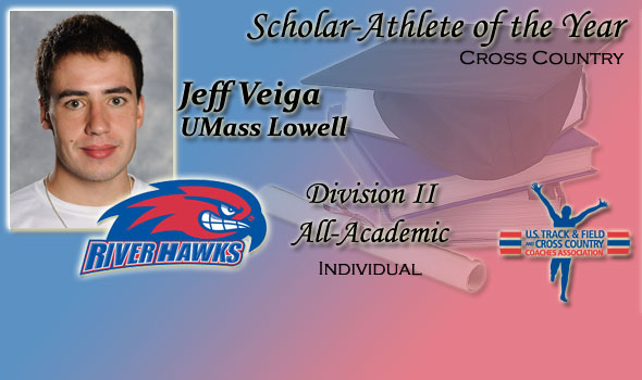 UMass Lowell's Jeff Veiga Honored as Division II's Scholar Athlete of the Year
