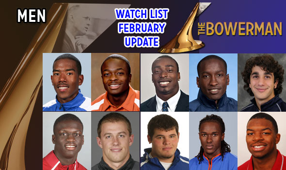 Jumpers Goodwin, Claye Added to The Bowerman Watch List for Men