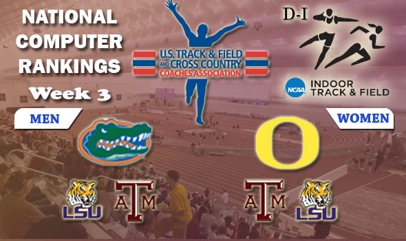 No Changes to Division I's National Top Four; One Weekend Remains to Post New Marks