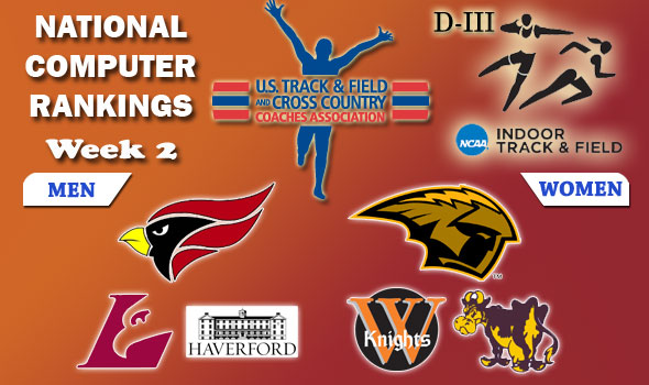 Division III Indoor T&F Rankings: Week 2, February 2, 2011