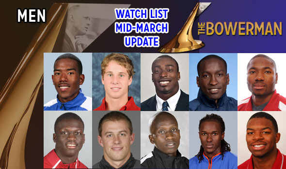 After NCAA Indoors, Drouin, Korir, Salaam Now Among The Bowerman Watch List Ten