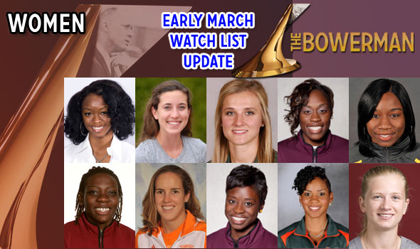 Tennessee's Jackie Areson Joins Women's Bowerman Watch