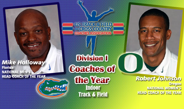 Holloway, Johnson Named D-I National Coaches of the Year