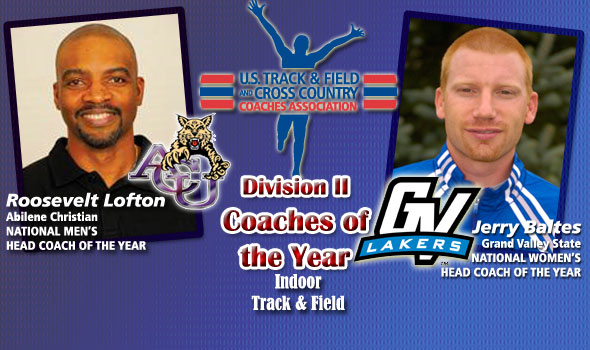 Lofton, Baltes Receive D-II National Coaches of the Year Nods