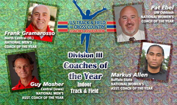 Newly-Minted Head Coaches Gramarosso, Ebel Lead Teams to National Titles, Are D-III Coaches of the Year