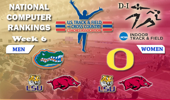 D-I Rankings Keep Florida, Oregon at No. 1; Both LSU, Arkansas Teams in National Top Three