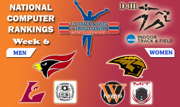 Division III Indoor Track & Field National Rankings: Week 6