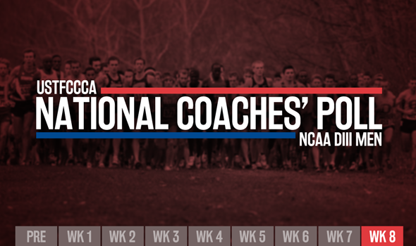Final NCAA DIII Men's XC Poll Shifts After Regional Championship Weekend
