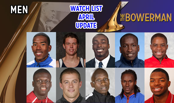 April Update Springs Batty, Osaghae to Bowerman Watch