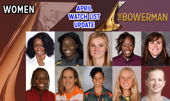Rising Stars Duncan, Jelmini Now Among The Bowerman's Women's Watch