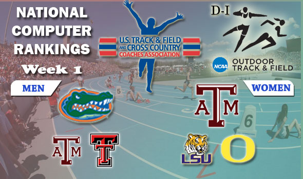 D-I Week One Outdoor Rankings: No Change to Number Ones, LSU Women Move to No. 2