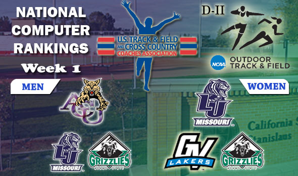 Lincoln's Women Makes Move to No. 1 in D-II Outdoor Team Rankings