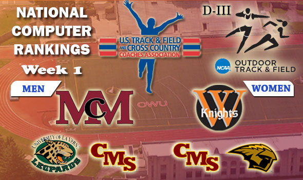 McMurry, Wartburg Lead-Off D-III Outdoor Season as Early National Leaders