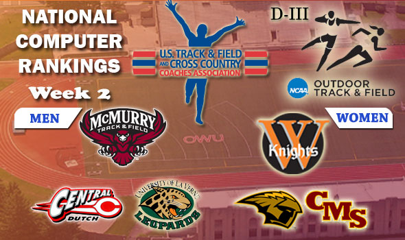 McMurry, Wartburg Still On Top of the D-III National Rankings
