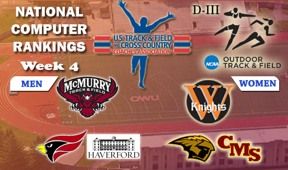 In D-III, McMurry, Wartburg Lead Halfway Through Outdoor Season