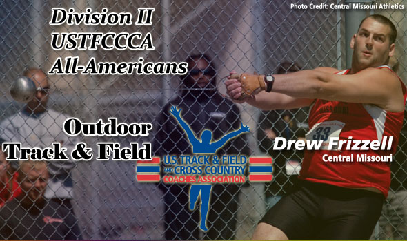 NCAA Division II Outdoor Track & Field All-America Recipients Named