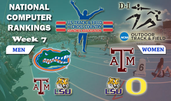 National Rankings Come Full Circle in D-I as Florida Men, Texas A&M Women Regain Top Posts