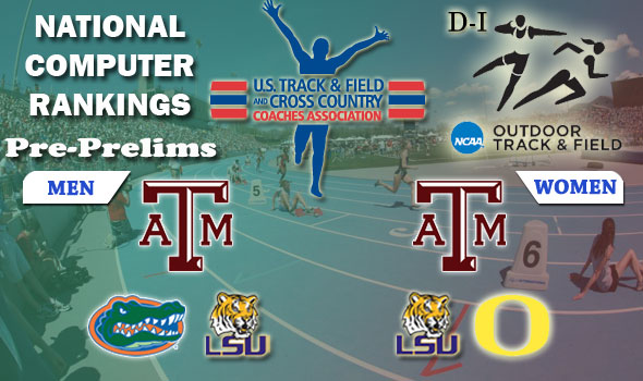 Team Races Keep Close as NCAA D-I Moves to Postseason, Texas A&M Again Double No. 1s