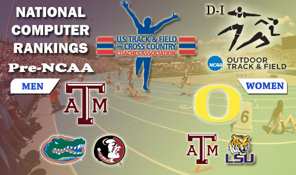 Heading to Des Moines: Texas A&M's Men, Oregon's Women Are Number Ones