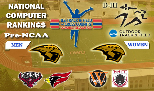 D-III Pre-NCAA Rankings Show Super Close Team Battles Ahead, UW-Oshkosh Men Take Over No. 1