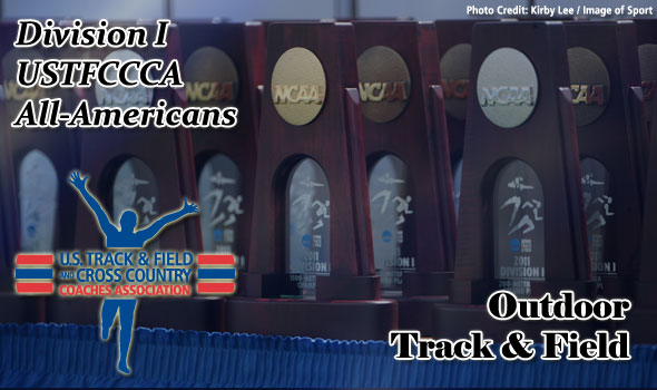 NCAA Division I Outdoor Track & Field All-America Recipients Named