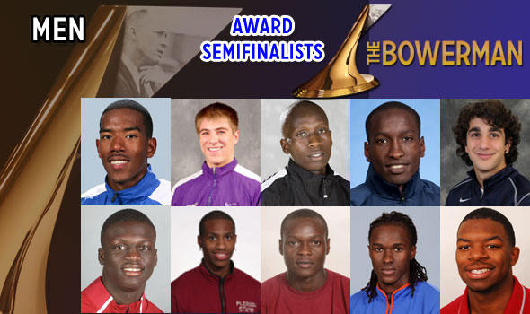 Men's Semifinalists For The Bowerman 2011 Named
