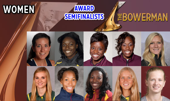 Women's Semifinalists for The Bowerman 2011 Announced