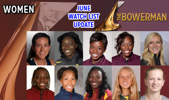 Villanova's Reid Returns to Bowerman Women's Watch as Season Hits Crescendo