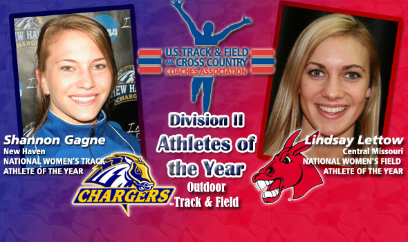 Division II's National Women's Athletes of the Year Are Gagne, Lettow