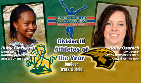 Blackwell, Ozanich Claim Distinction as D-III's National Women's Athletes of the Year