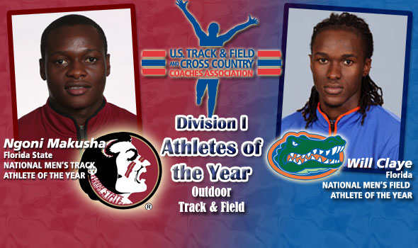 Multiple World-Class Performances by Makusha and Claye Lead to National Athlete of the Year Plaudits