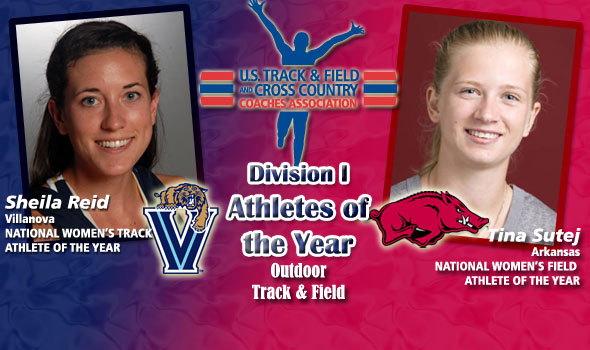 Reid, Sutej Claim National Women's Athlete of the Year Titles