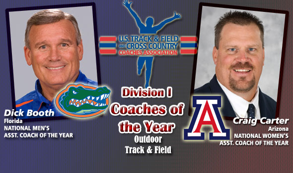 Booth, Carter Earn National Assistant Coach of the Year Honors