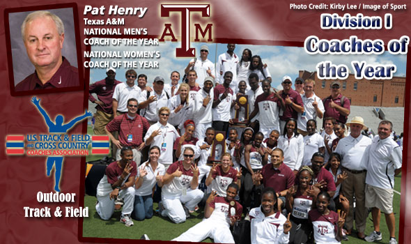 Henry Wins 33rd Career National Crown as Coach, Again Sweeps National Coach of the Year Honors