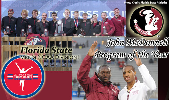 Florida State's Men Claim Their First John McDonnell Program of the Year Acclaim