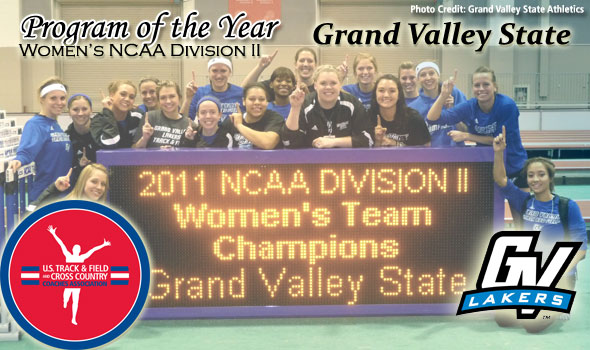 Grand Valley State's Women Claims Third-Straight Program of the Year Title
