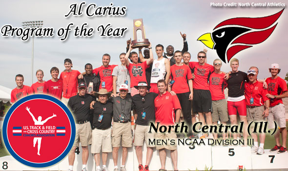 North Central Does It Again, Wins Al Carius Program of the Year Award