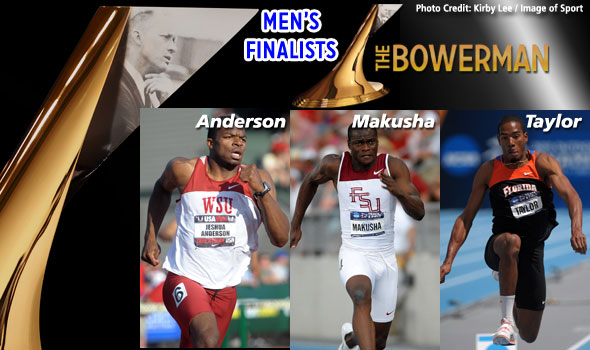 Anderson, Makusha, Taylor Named Finalists for The Bowerman