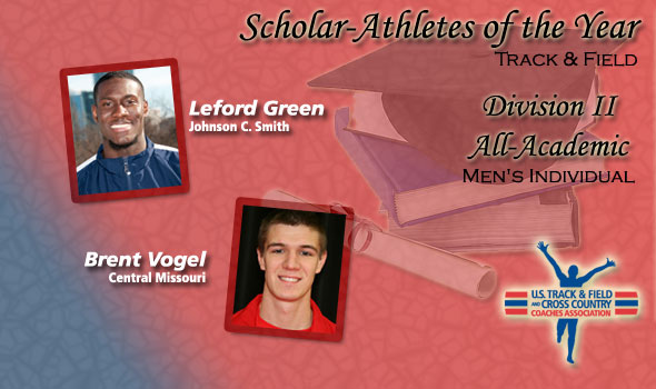 Green, Vogel Pickup Men's Scholar Athlete of the Year Honors in Division II